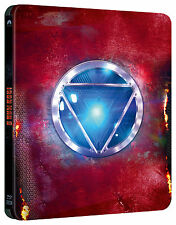 Iron Man 3 3D + 2D Steelbook™ Limited Collector's Edition Region Free