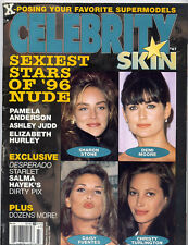 Celebrity Skin Magazine january 1996 ed.USA Madonna Kate Moss stile Playboy