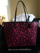 COACH F55862 Prairie Calico Reversible City Tote NWT SVLCU Free Shipping Pink