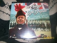The Charge of the Light Brigade Letterbox Laserdisc LD  Free Ship $30 Orders