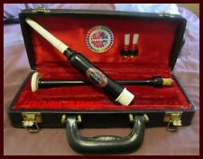 SCOTTISH BAGPIPE CHANTER Black ROSEWOOD FREE Carry Case - TWO REEDS - CP MADE