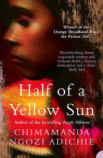 Chimamanda Ngozi Adichie Half of a Yellow Sun Very Good Book