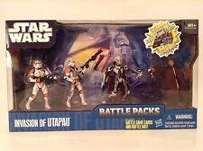 Star Wars Clone Wars Invasion Of Utapau Figure Battle Packs Airborne Cody New