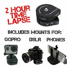 Flow-Mow 360 120 minute 2 Hour Time Lapse compatible with GoPro®, DSLR, Phone