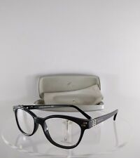 New Authentic Swarovski Eyeglasses Active SW 5003 001 Shiny Black Frame