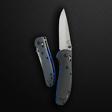NEW BENCHMADE 551-1 GRIPTILLIAN AXIS FOLDING SATIN BLADE / GRAY G10 HANDLE KNIFE