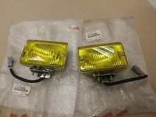 GENUINE TOYOTA KOITO YELLOW FOG LIGHTS LEVIN AE86 CELICA MA61-63 AW11 SPRINTER