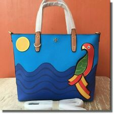 SALE!! Tory Burch Kerrington Parrot Small Tote