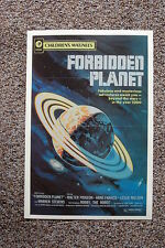 Forbidden Planet #2 Lobby Card Movie Poster