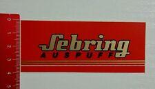 Aufkleber/Sticker: Sebring Auspuff (22031690)