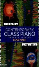 Contemporary Class Piano by Elyse Mach (2010, Spiral)
