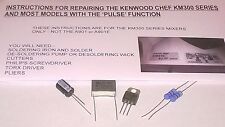 Kenwood Chef Mixer 'Pulse' Speed Control Module Repair Kit & Instructions