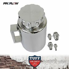 Proflow Polished Alloy Billet Power Steering Reservoir Bottle Tank & Cap New