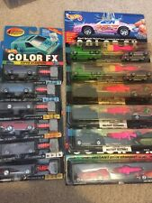 Huge Lot of 12 Hot Wheels Color Changers FX Military, 57 Chevy 40 Ford MOC
