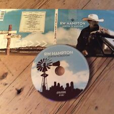 R.W. Hampton : Austin To Boston CD (2010)