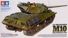 1/35 Tamiya US M-10 Tank Destroyer GMC Mid Production  #35350 -New