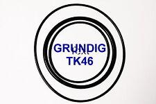 CORREAS SET GRUNDIG TK 46  MAGNETOFONO  EXTRA FUERTE NUEVAS DE FABRICA  TK46