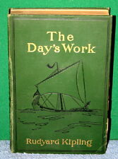 Vintage Book - The Day's Work by Rudyard Kipling 1898 Doubleday & McClure