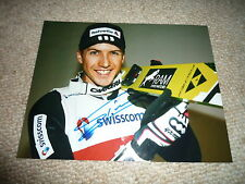 SIMON AMMANN  signed Autogramm In Person  20x25 cm 4x OLYMPIA Gold SKISPRINGEN