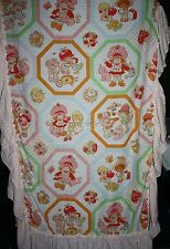 VINTAGE 1980 STRAWBERRY SHORTCAKE Ruffled CANOPY Cover American Greetings