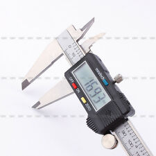"200mm 8"" Electronic Digital LCD Caliper Vernier Gauge Micrometer Metal Housed"