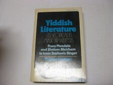 Yiddish literature: Its scope and major writers by Charles Allan Madison