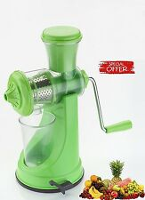 Fruit Juicer / Vegetable Juicer Multi Color Stainless Steel Handle