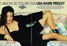 Coupure de Presse Clipping 1993 (7 pages) Lisa Marie Presley