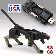 Hot Sale 32GB Cool Transformers model USB 2.0 Flash Memory Pen Drive U Disk