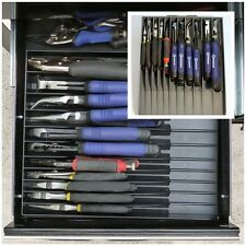 Tray Storage Organizer For Pliers Holds Rack Drawers Compact Tool Box Craftsman