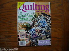Quilting Today Magazine QT 54 1996