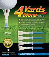 4 Yards More Golf Tees  Driver Blue 3 1/4 Inches Length