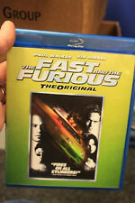 The Fast and the Furious The Orignal blu ray paul walker and vin diesel like new