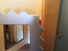Spiegel Zackenspiegel 147x97x3 cm mit Wandmontagemöglichkeit für quer und längs