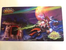 World of Warcraft (WOW) Trading Card Game TCG DARK PORTAL Playmat NEW In Package