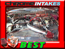"""K&N+BLACK RED 98-03 CHEVY S10 ZR2/XTREME/HOMBRE/SONOMA 2.2L COLD AIR INTAKE 3"""""""