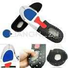 Gel Orthotic Sport Running Insoles Insert Shoes Pad Arch Support Heel Cushion