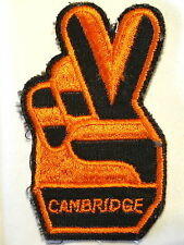 """Cambridge"" Football Soccer Club Supporter Sew on Cloth Patch Badge 1970's"