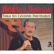 DOMENICO MODUGNO - Todas sus canciones inolvidables - 2 CD 1994 MADE IN SPAIN