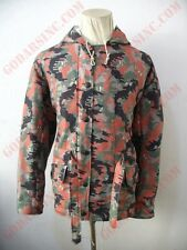 WW2 German 1945 Leibermuster Camo Winter Reversible Parka L