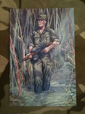 Military Postcard 1st/3rd East Anglian Regiment Malaya 1959 by Alix Baker