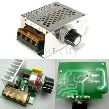 4000W 220V AC MC3 SCR Voltage Regulator Speed Controller Dimmer Thermostat Motor