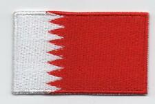 Embroidered BAHRAIN Flag Iron on Sew on Patch Badge HIGH QUALITY APPLIQUE