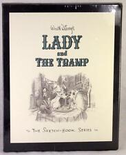 BRAND NEW WALT DISNEY'S LADY AND THE TRAMP WALT DISNEY SKETCH-BOOK SERIES
