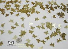 Wedding Table Scatters Confetti Butterflies- Gold