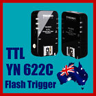 Yongnuo YN-622C Wireless TTL Flash Trigger for Canon 7D 6D 5DII 5DIII 1Dx