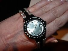 WATCH Authentic TOY Clear Acrylic & Stainless Steel SWAROVSKI Crystal