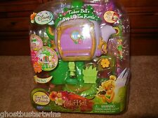 NEW NIP DISNEY TINKER BELL TINKERBELL FAIRY DOLL TEAPOT HOUSE PLAYSET TOY LOT