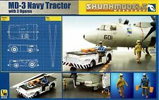 Kinetic 1/48 SW-48003 US Navy MD-3 Tractor with 3 Figures
