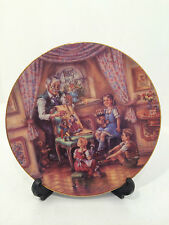 Bradford Exchange Opas Marionetten-Spiel Puppet Play Limited Edition Plate